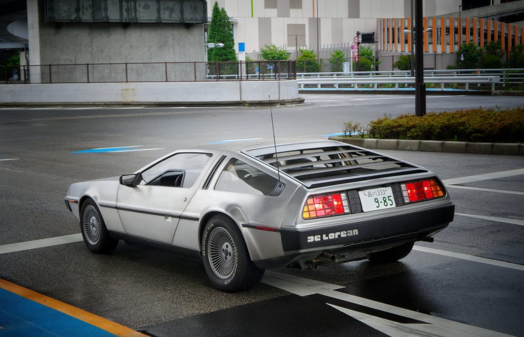 A DMC Delorean -Hotel technology has come a long way since 1985. IoT has given your intelligent hotel a voice.